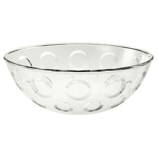 Saladeira Bolli 30 cm Transparente Guzzini