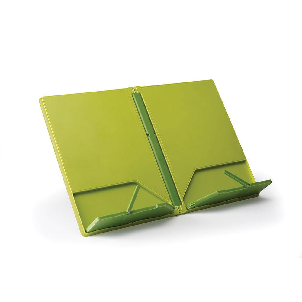 Suporte para Livro de Receitas Cookbook Verde Joseph Joseph