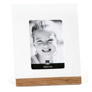 Porta-Retrato-Art-Image-Base-15x21-Louro-Pardo-com-Branco