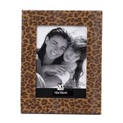 Porta-Retrato-Art-Image-Pele-Onca-Leather-10x15-Caramelo