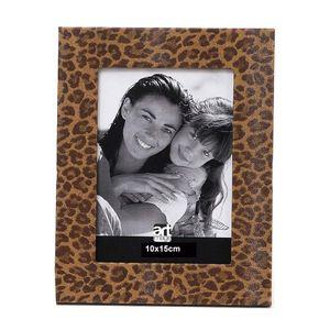 Porta-Retrato-Art-Image-Pele-Onca-Leather-10x15-Caramelo