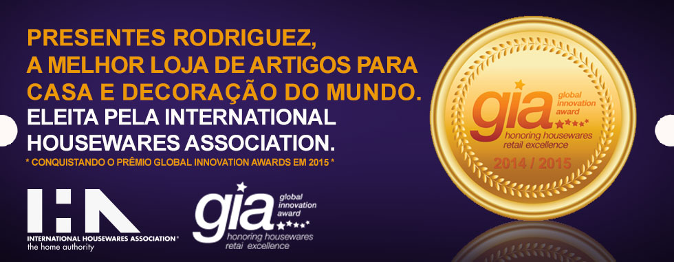 Banner Principal | Presentes Rodriguez - Prêmio Gia Internacional