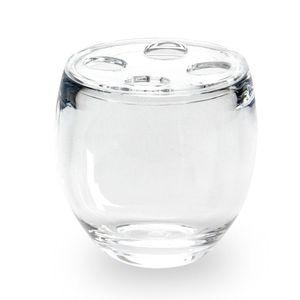 Porta-Escova-Umbra-de-Dente-Droplet-Transparente