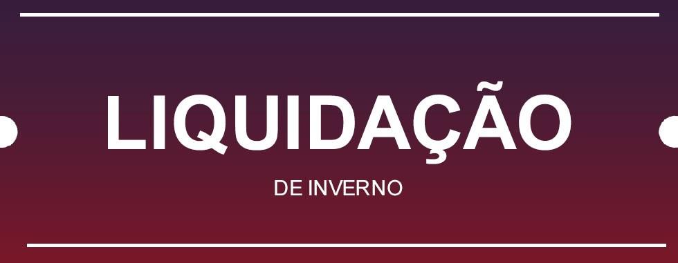 Banner Principal | Liquidação de Inverno