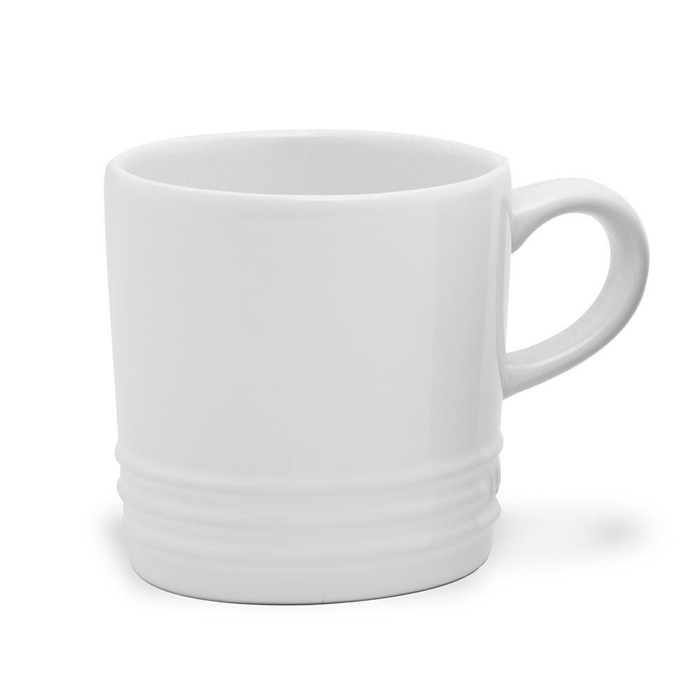 Caneca de Cappuccino 200 ml Branco Le Creuset
