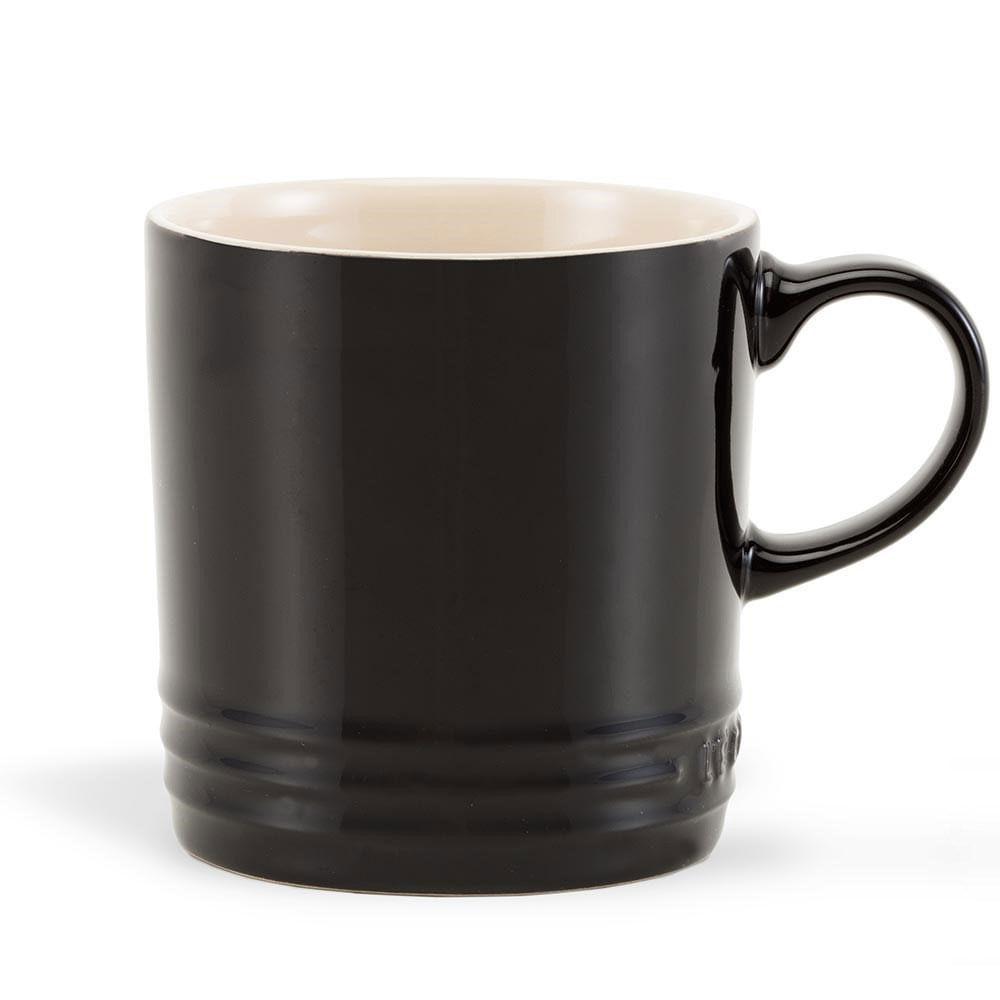 Caneca de Espresso Preto Black Onix Le Creuset