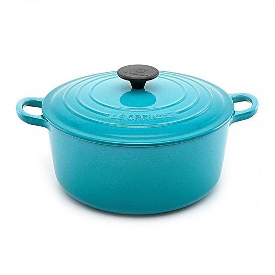 panela-redonda-20-cm-azul-caribe-le-creuset