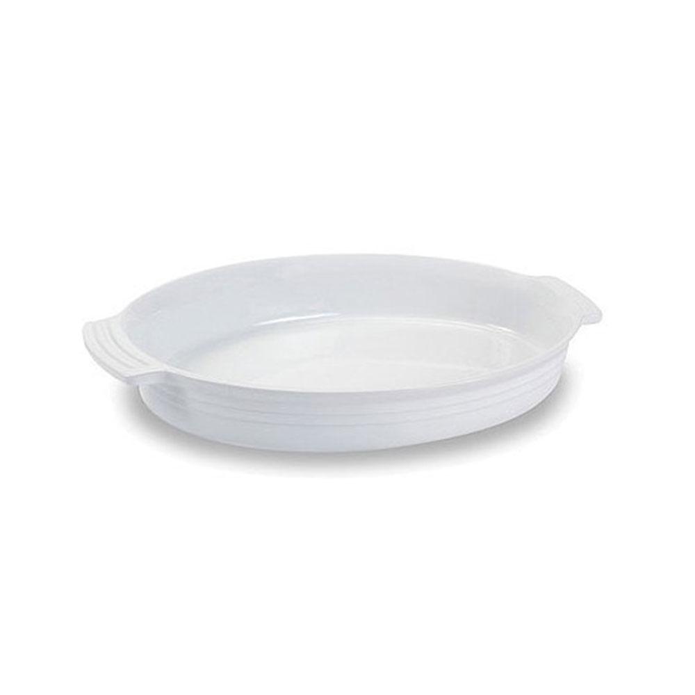 Travessa Oval 1,8 Litro Branco Le Creuset