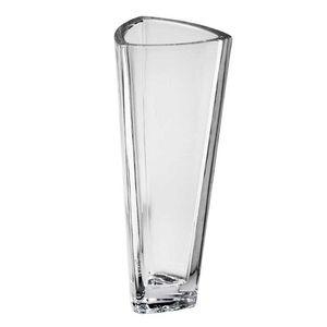 Vaso-Bohemia-de-Cristal-Triangulo-33-cm