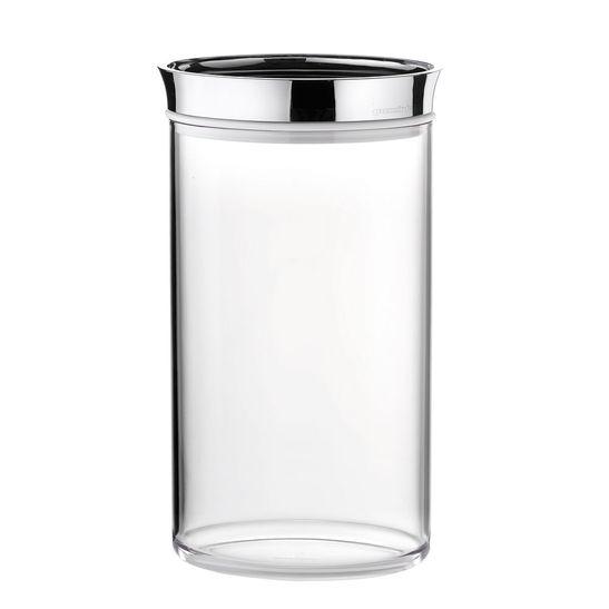 Pote-Guzzini-Transparente-Oval-Look-1000-cc-Tampa-Cromo