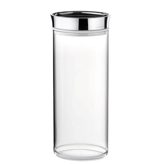 Pote-Guzzini-Transparente-Oval-Look-1900-cc-Tampa-Cromo