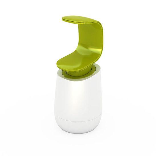 Dispensador-Joseph-Joseph-de-Sabonete-Liquido-Branco-Verde