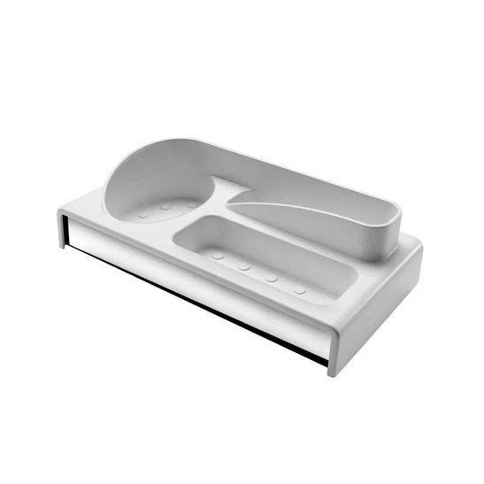 Organizador-Brinox-para-Pia-Multiuso-Branco