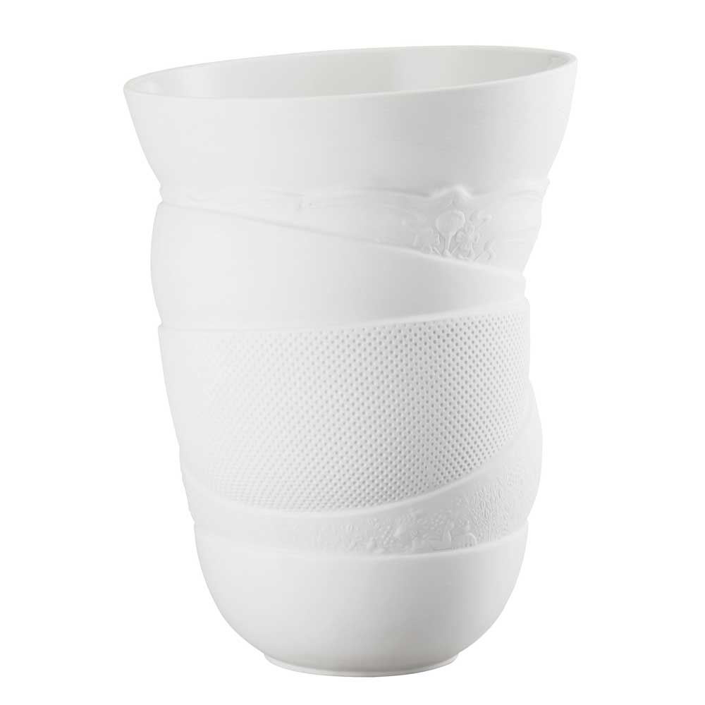 Vaso Reunion Branco 31 cm Rosenthal