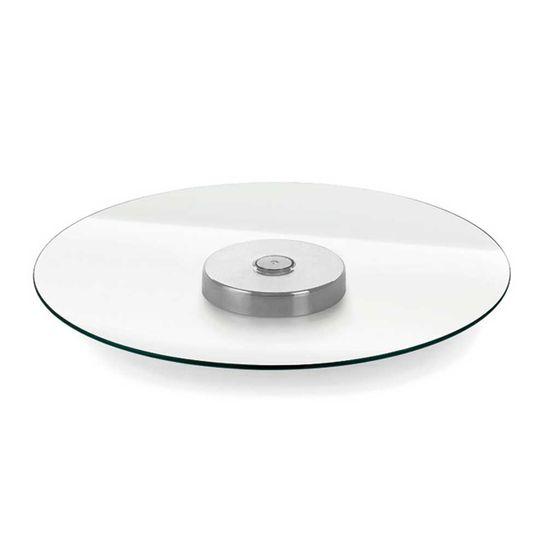 Prato-para-Servir-Forma-Giratorio-Andrea-Liss-Vidro-Temperado-6-mm-Diametro-400-mm