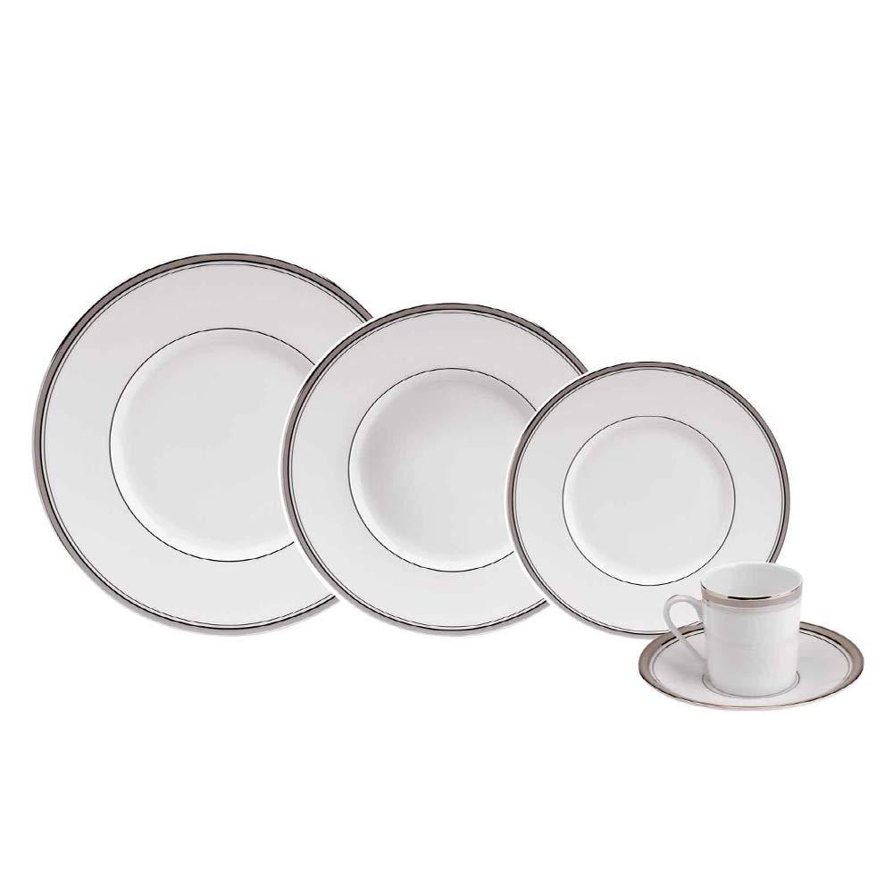 Aparelho de Jantar Excellence Proude 24 Peças Porcelaine de Limoges Philippe Deshoulieres