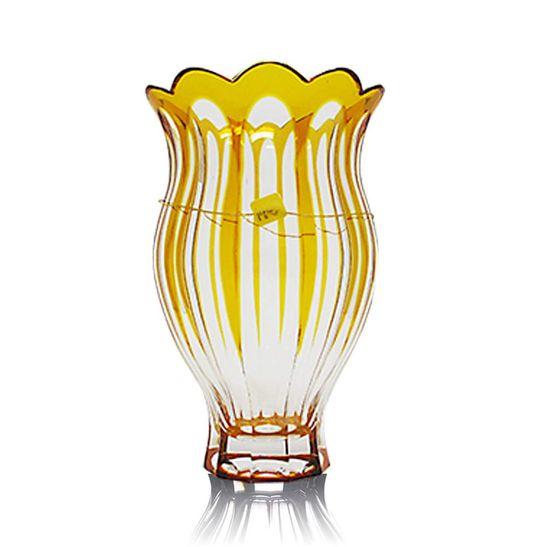 Vaso-Strauss-26-cm-Amarelo-Peca