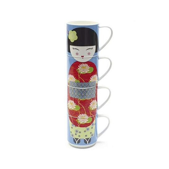 Caneca-Emsa-Mw-Doll-Geisha-Emp-420-ml-cj-4-Pc