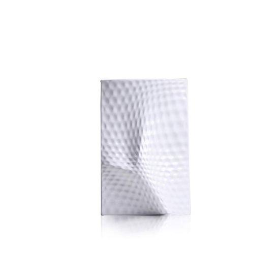 Vaso-Holaria-Metralhado-Miniatura-Grande-Branco