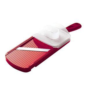 Fatiador-Kyocera-Adjustable-Lamina-Ceramica-Vermelho