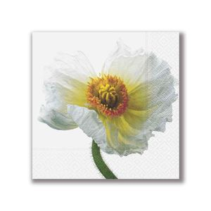 Guardanapo-Papper-Design-White-Papaver-33X33