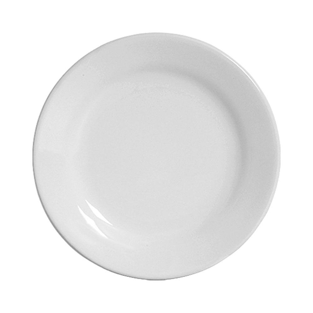 Prato Sobremesa Standard Branco 6 Peças Scalla