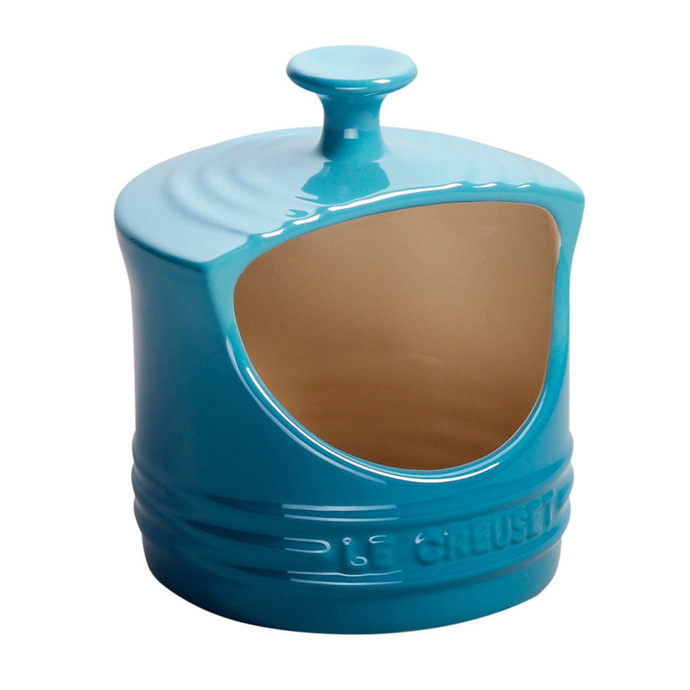 Porta Sal Azul Caribe Le Creuset