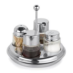 Galheteiro-Forma-Redondo-4-Vidros-com-Azeite-Vinagre-Sal-Palitos