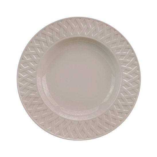 Prato-Sobremesa-Limoge-Philippe-Deshoulieres-220-mm-Louisiane-Taupe-6-Pecas