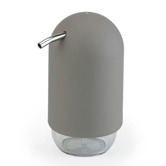 Porta-Sabonete-Liquido-Umbra-Touch-Cinza