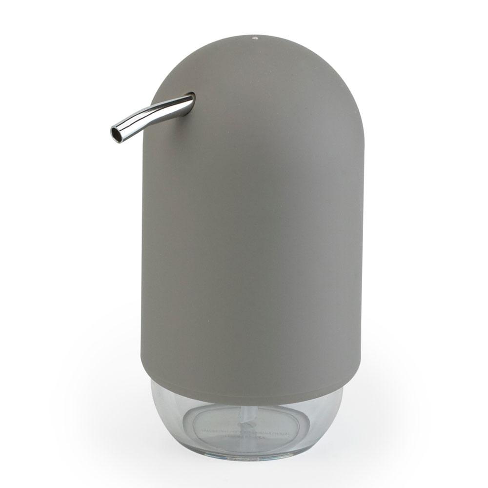 Porta Sabonete Líquido Touch Cinza Umbra
