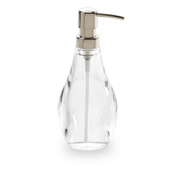 Porta-Sabonete-Liquido-Umbra-Droplet-Transparente