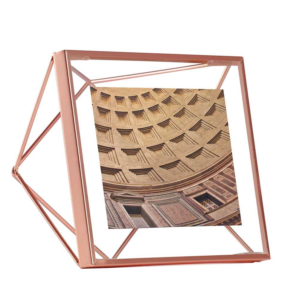 Porta Retrato Prisma 10X10 Cobre Umbra