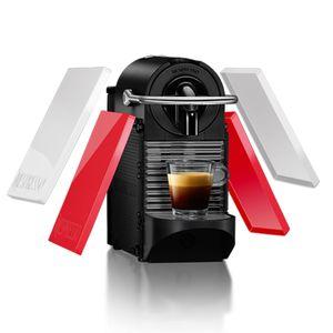 CAFETEIRA-PIXIE-CLIP-BRANCA-E-CORAL-NEON-110V-NESPRESSO