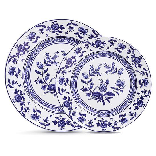 Conjunto-de-Pratos-Flor-de-Cobalto-12-Pecas-Verbano