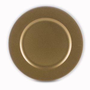 SOUSPLAT-DE-PLASTICO-LISO-GOLD-33CM--6-PECAS-BON-GOURMET