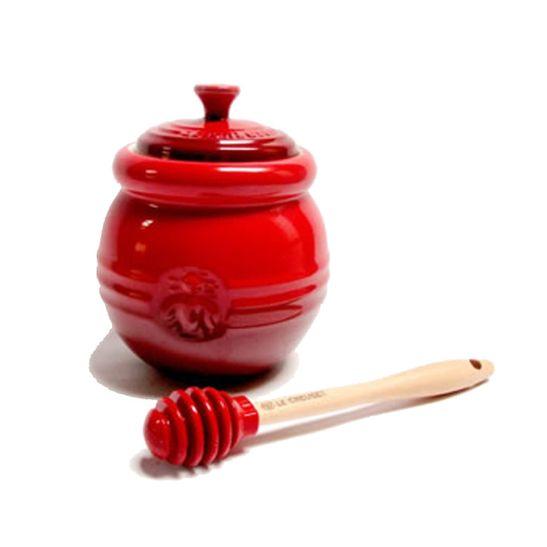 Pote-para-Mel-Vermelho-Le-Creuset