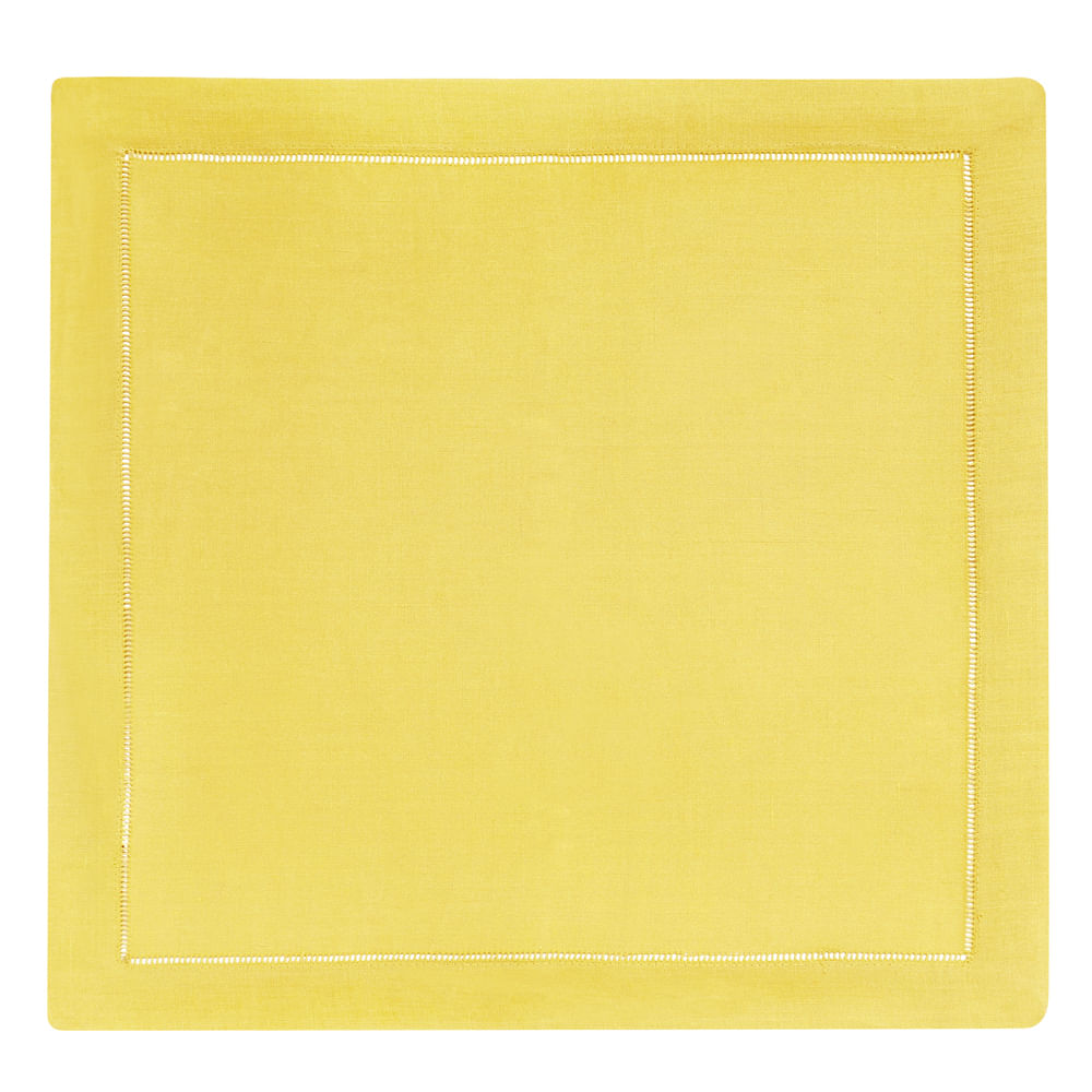 Guardanapo Linho Amarelo Copa e Cia