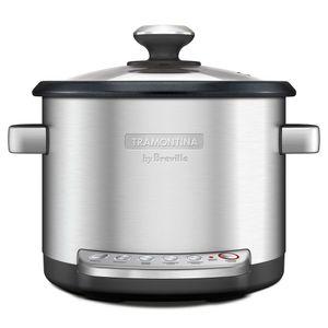Panela-Eletronic-Aco-Inox-Multi-Cook-127V-Prata-Tramontina-By-Breville