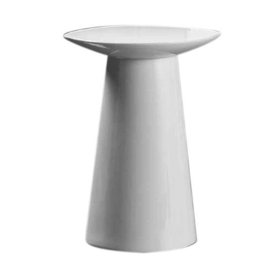 Vaso-Flachkragen-30-cm-Porcelana-Branca-Kaiser-Porzellan