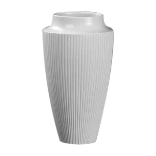 Vaso-Pilaster-30-cm-Porcelana-Branca-Kaiser-Porzellan