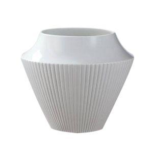 Vaso-Pilaster-16-cm-Porcelana-Branca-Kaiser