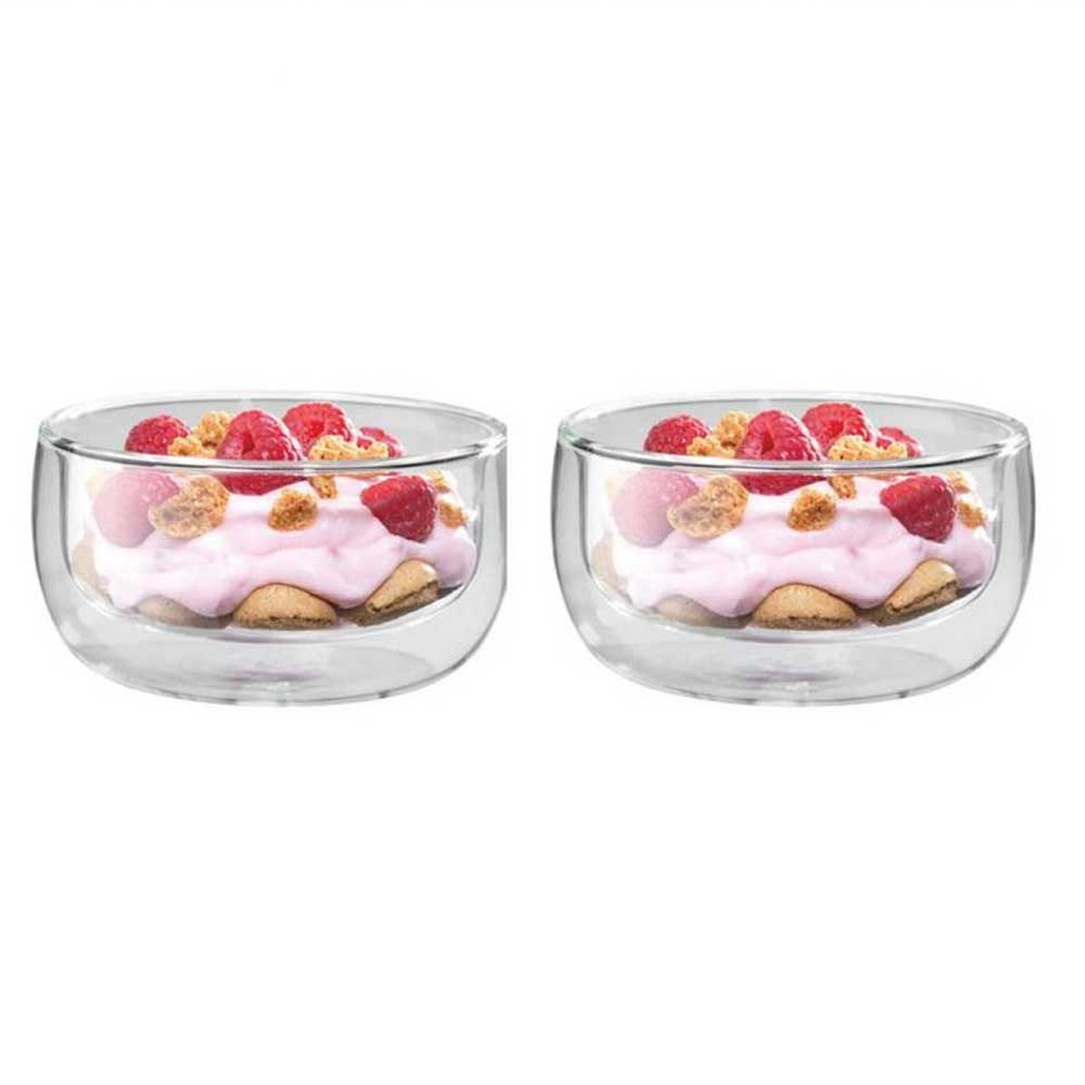 Bowls Sobremesas de Vidro Cappuccino Sorrento Parede Dupla 2 Peças 280 ml Zwilling J.A. Henckels