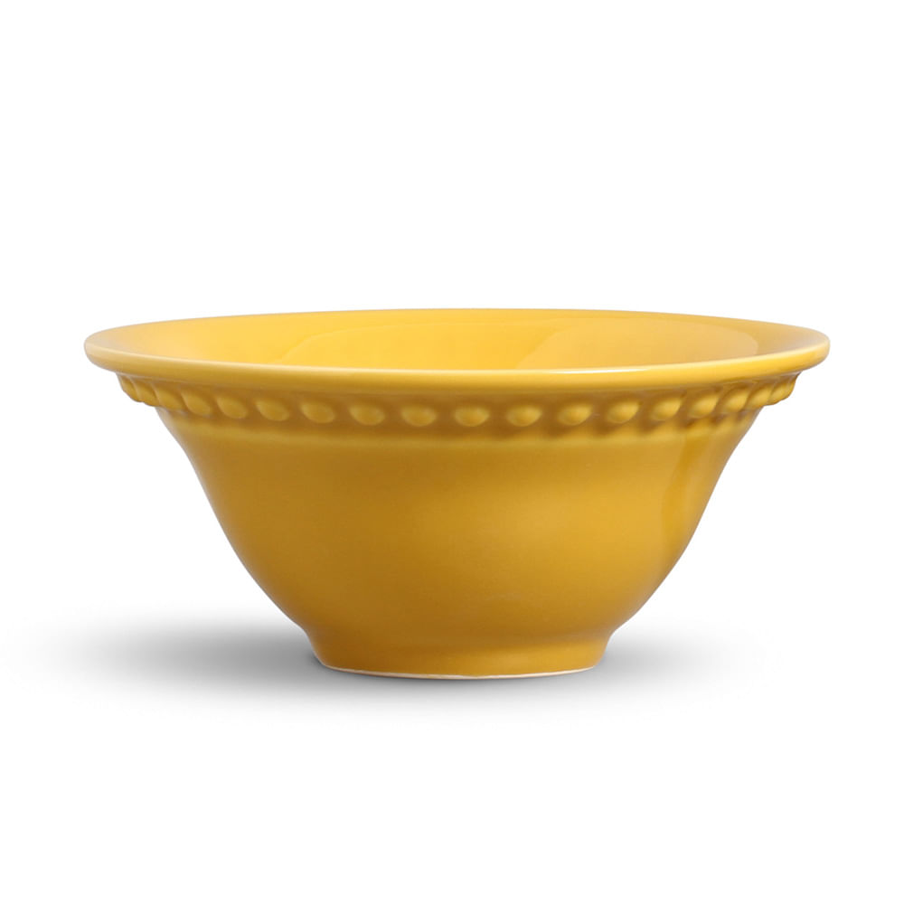 Bowl Atenas Cerâmica Mostarda Porto Brasil
