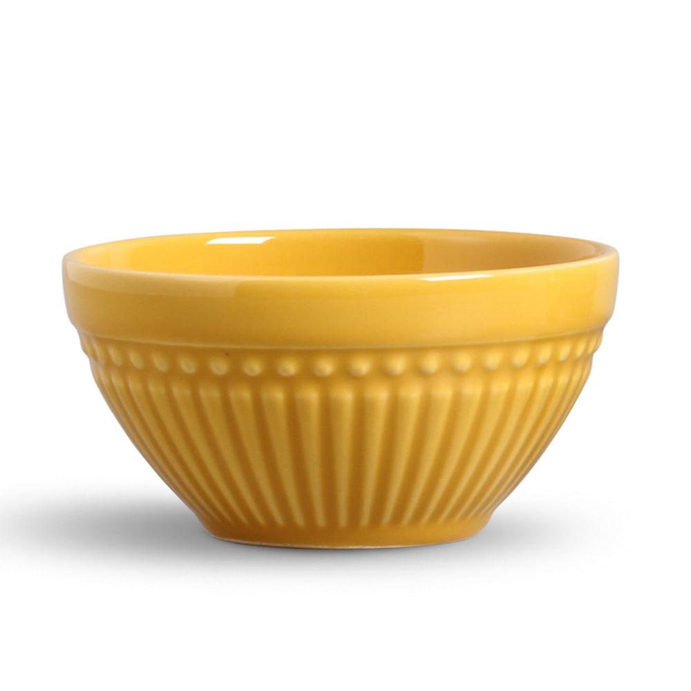 Bowl Roma Cerâmica Mostarda Porto Brasil