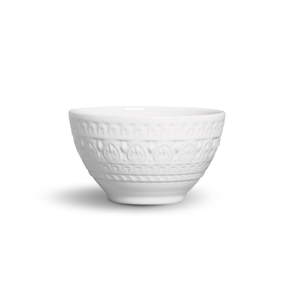 Bowl Greek Cerâmica 6 Peças Branco Porto Brasil