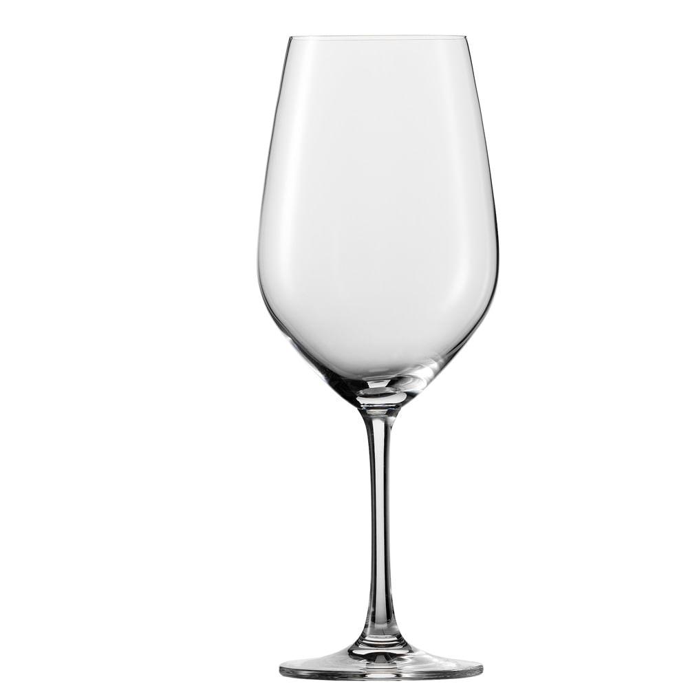 Taça Água e Vinho Tinto Vina 530 ml 6 Peças Schott Zwiesel