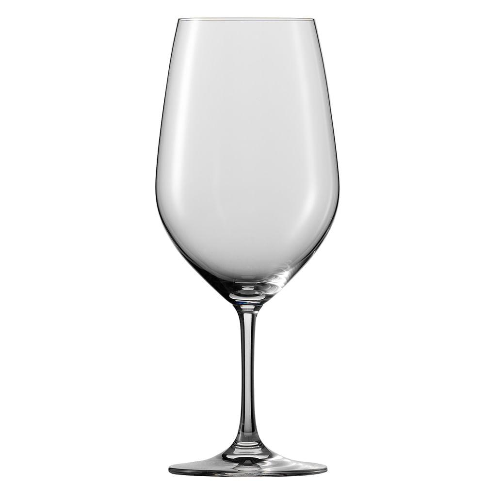 Taça Vinho Tinto Bordeaux Vina 640 ml 6 Peças Schott Zwiesel