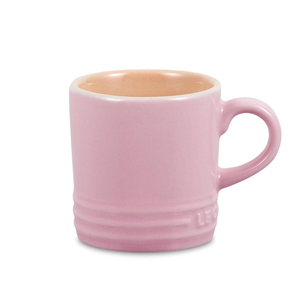Caneca de Espresso Rosa Chiffon Pink Le Creuset