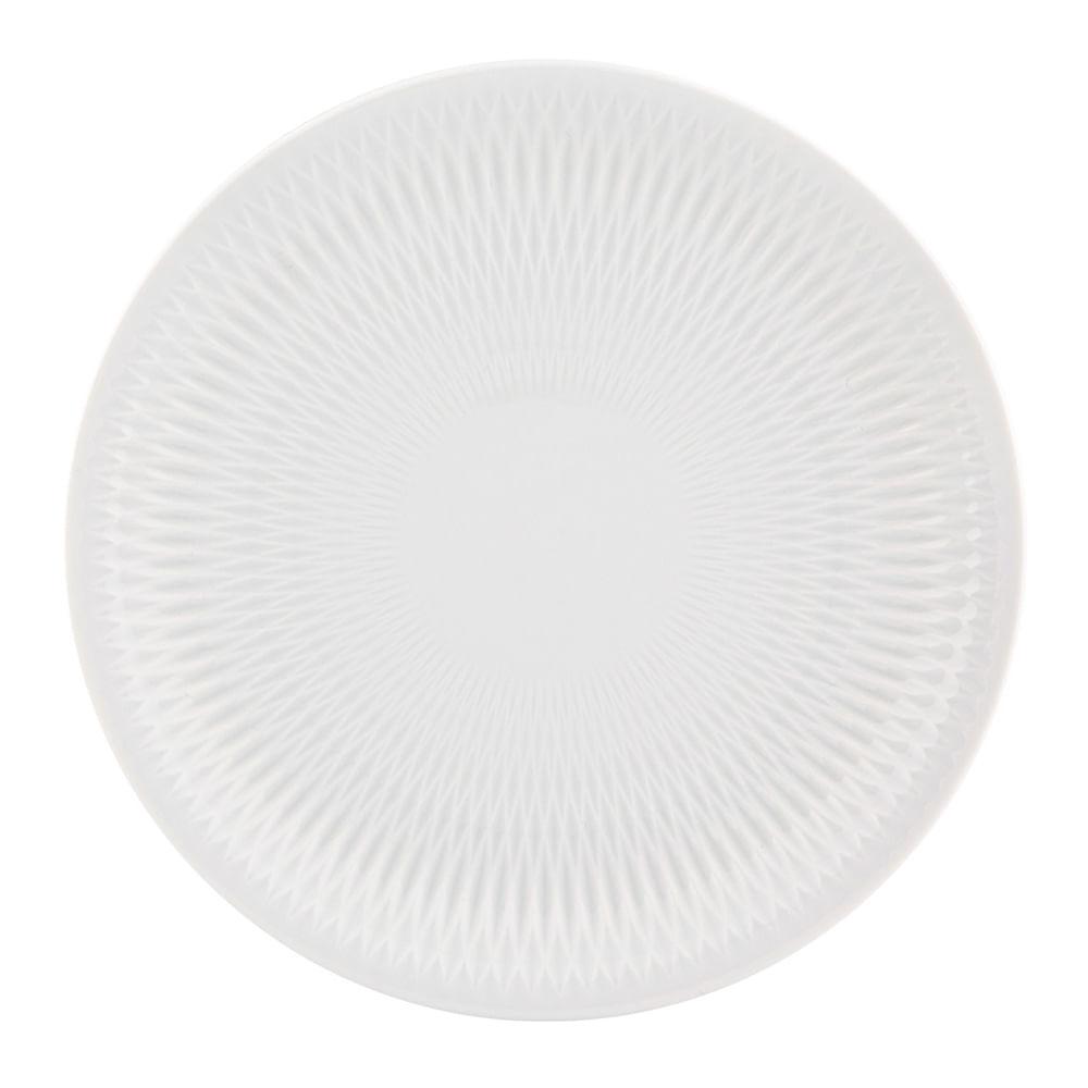 Prato Pão Utopia 17 cm Porcelana Branco Vista Alegre Atlantis